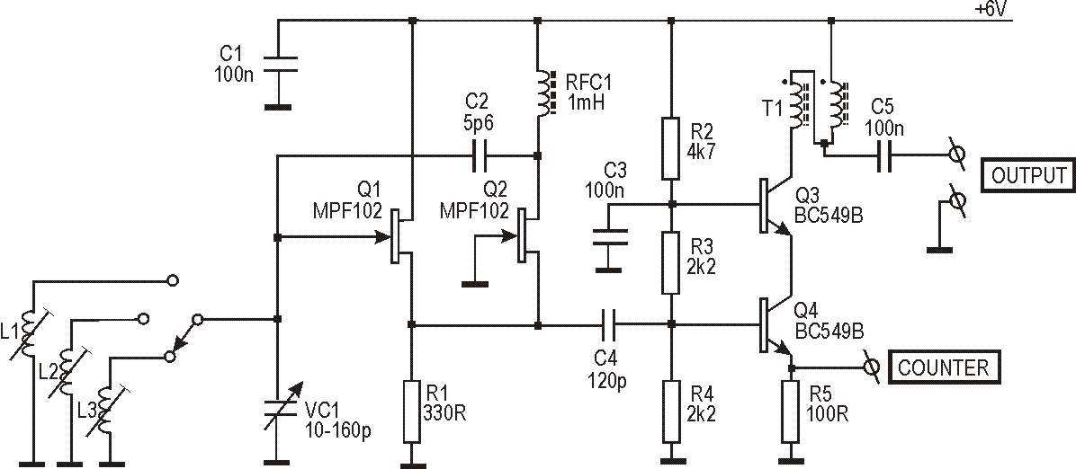 Knight Rf Generator Schematics : Zl pd simple rf signal generator