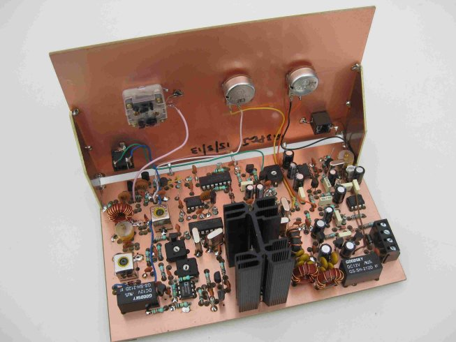 ZL2PD builds the Lydford 40m QRP SSB Transceiver