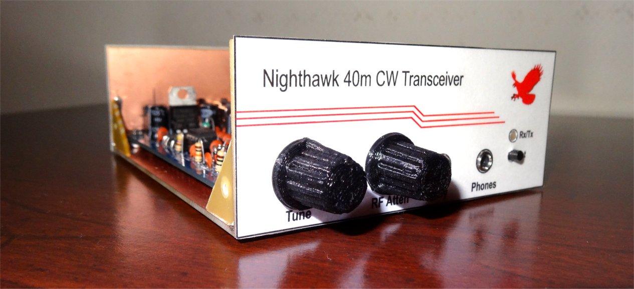 ZL2PD Nighthawk 40m 10W CW Transceiver Kit