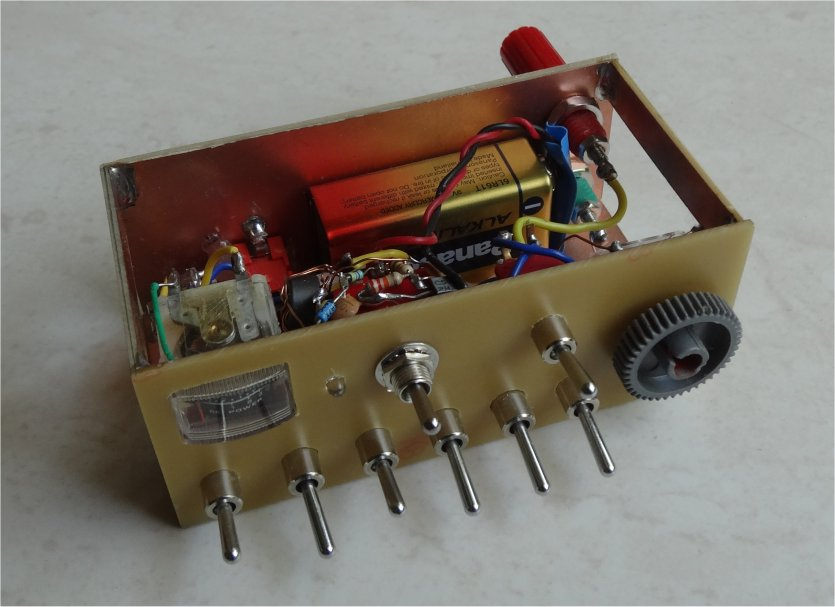 ZL2PD Silent Tuning QRP Antenna Tuning Unit (ATU)
