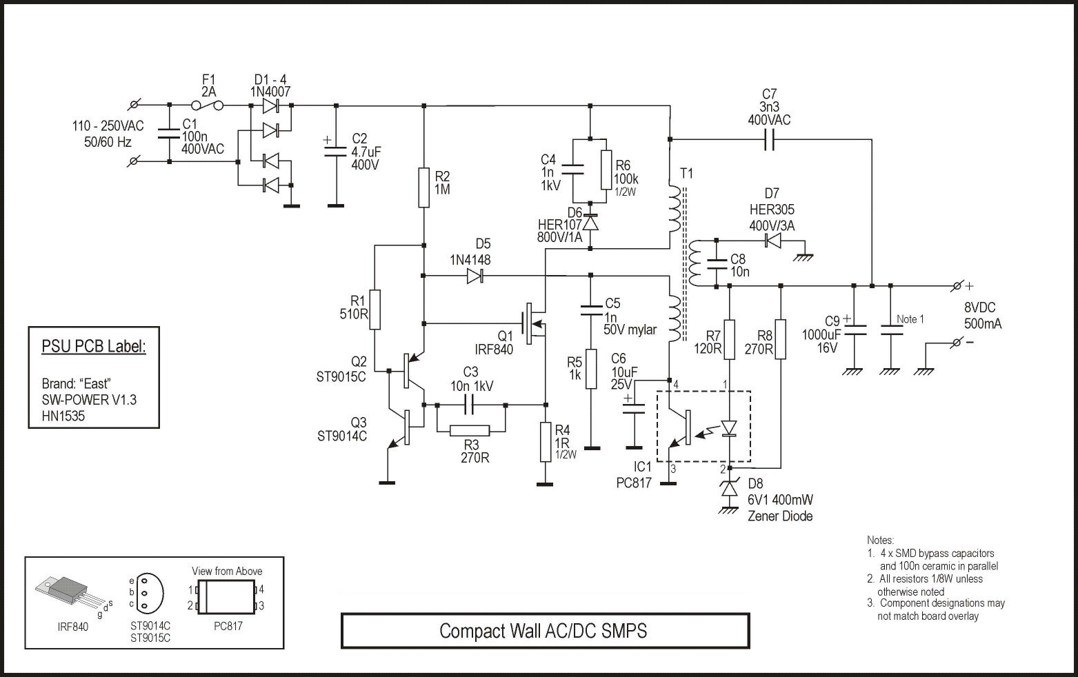 Zl2pd Introduction To Switchmode Power Supplies For Usb Pack Wiring Diagram