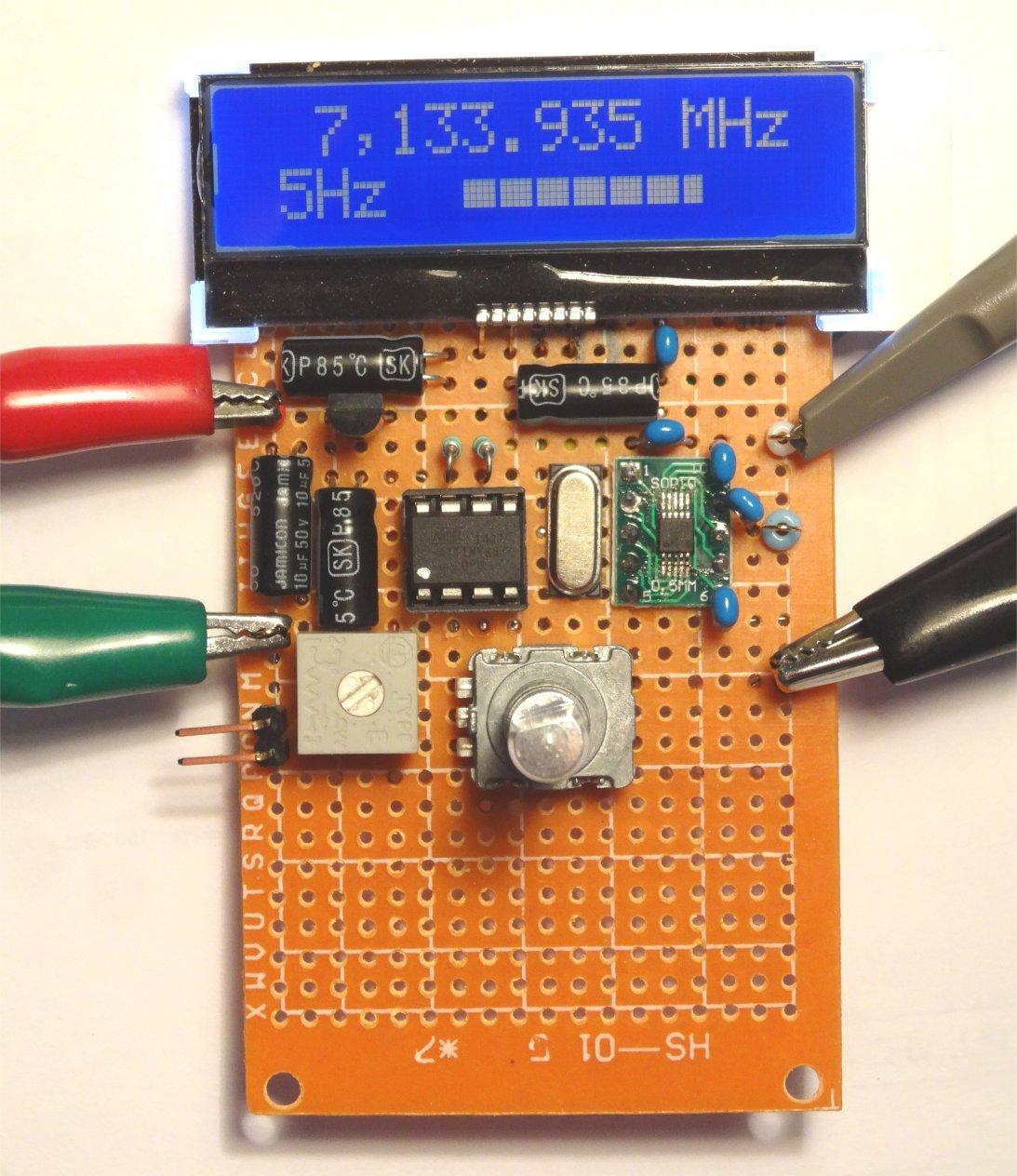 ZL2PD Tiny85 si5351 VFO/BFO